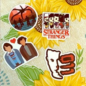 Other - 4p stranger things stickers